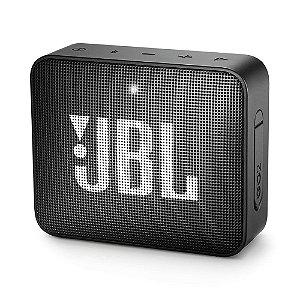 Caixa de Som Bluetooth JBL GO 2 Preta 3W