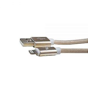 CABO IPHONE LIGHTNING XC-CD-16 X-CELL PRATA 2MT