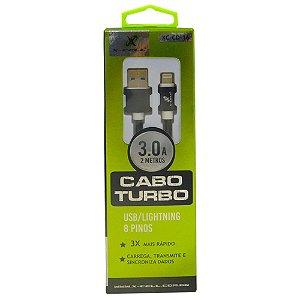 Cabo Lightning X-Cell Xc-Cd-16 Preto 2 Metros