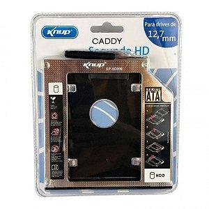 Adaptador DVD HD/SSD Notebook Knup KP-HD009  12,7