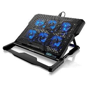 Cooler para Notebook Led Azul Multilaser AC282