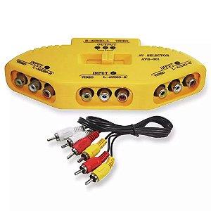 CHAVE SELETORA RCA AVS-001 MXT 3 E X 1 S
