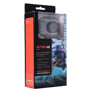 CAMERA DE ACAO DC191 ATRIO WIFI 16MP 30FP 4K