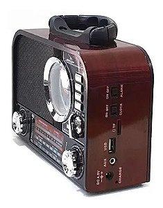 RADIO D-F8 GRASEP 3 FAIXAS AM/FM 8W VINHO
