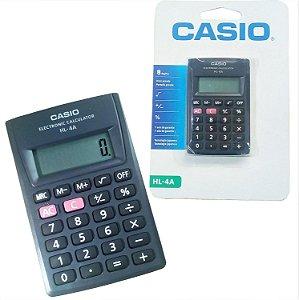 Calculadora Casio hl4a Preta