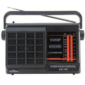 RADIO RM-PSMPBT21AC MOTOBRAS 2 FAIXAS AM/FM 5W