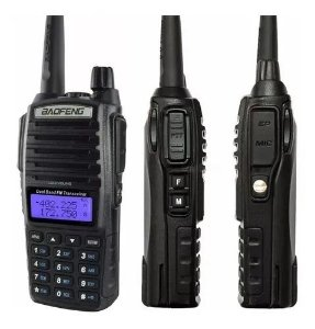 TALK ABOUT UV-82 BAOFENG DUAL BAND 128 CANAIS 4KM