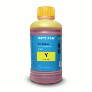 Refil de Tinta Amarelo Multilaser Rf016 para Epson