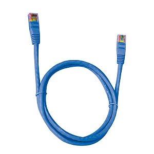 Cabo de Rede Plus Cable Patch PC-ETHU25BL 2.5Metro
