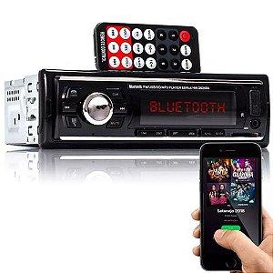 Auto Rádio Hw-26249a Mp3 Usb Sd Auxiliar