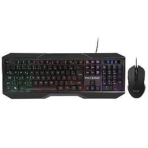 Teclado + Mouse com Fio Gamer Multilaser TC239