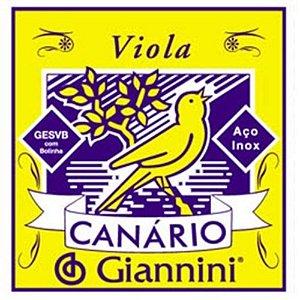 Encordoamento para Viola GESVB Giannini Canário