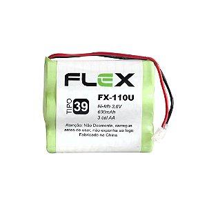 BATERIA P/ TELEFONE S/FIO FLEX FX-110U 600mAh