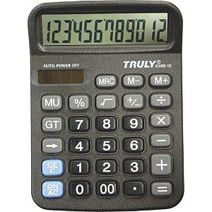 Calculadora de Mesa Truly 836B 12 Dígitos