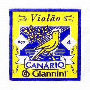 4ª Corda de Aço para Violão Giannini GESWB4