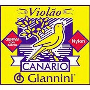 6ª Corda de Nylon para Violão Giannini GENWB6
