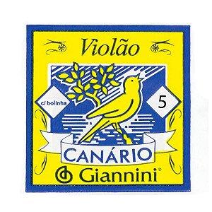 5ª Corda de Nylon para Violão Giannini GENWB.5