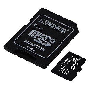 MEMÓRIA MICRO SD KINGSTON 32GB ULTRA C10