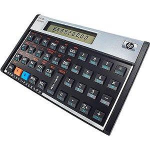 CALCULADORA HP-12C HP FINANCEIRA PLATINUN