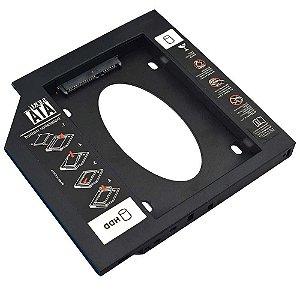 ADAPTADOR DVD P/HD/SSD GA173 MULTILASER NOT 12,7mm
