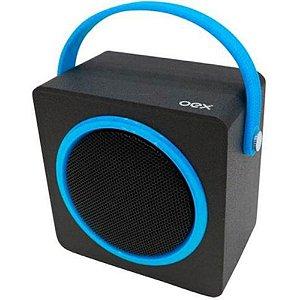 CAIXA DE SOM SK404 OEX MUSIC BOX AZUL