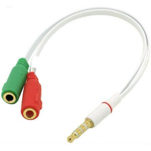 Cabo Adaptador para Headset  2 J2 4C F P/1 P2 4C M