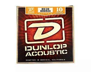 Encordoamento Aço para Violão Dunlop 010