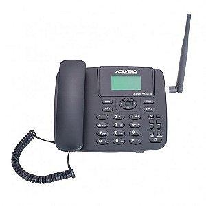 Telefone  Rural Aquário CA42S  Dual Chip 3G c/ fio