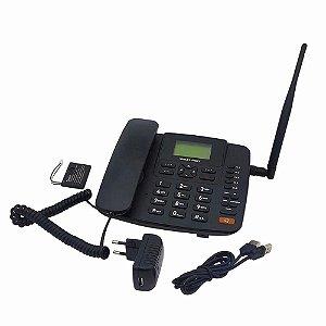 TELEFONE RURAL RE505 4G MULTILASER COM FIO