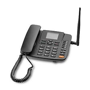 Telefone Rural  Multilaser RE505 4G com Fio