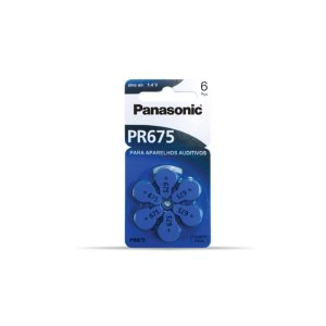 PILHA AUDITIVA PR675 PANASONIC (CADA)