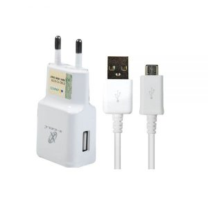 Carregador Micro USB V8 Flex XC-KIT -V8  Branco