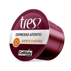 CAPSULA DE CAFE EXPRESSO ATENTO TRES CORACOES