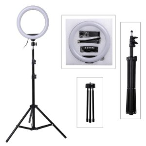 Ring Fill Light Led com Tripé 1,90cm 10""