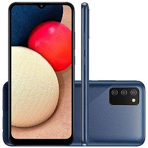 Smartphone Samsung Galaxy A02s 32GB A025M Azul