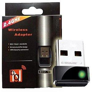 Adaptador Wireless Nano para Receptor LV-UW06