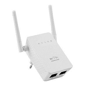 Repetidor de Sinal Wireless-N LV-WR02ES 2 Antenas