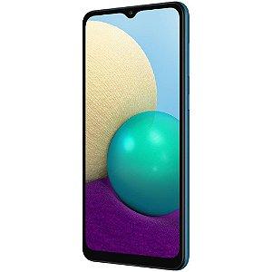 Smartphone Samsung Galaxy A02 32GB A022M Azul