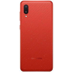 Smartphone Samsung Galaxy A02 32GB A022M Vermelho.