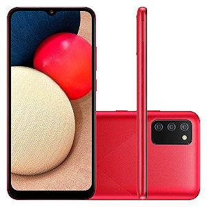 Smartphone Samsung Galaxy A02s 32GB A025M Vermelho