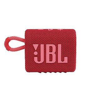 Caixa de Som JBL GO 3 Vermelha 4W