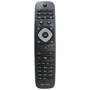 Controle Remoto para TV Philips LE-7413 Lelong