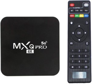 Tv Box MXQ Pro 4K Android 10.1 8GB/128GB