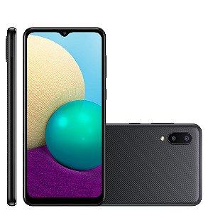 Smartphone Samsung Galaxy A02 32GB A022M Preto