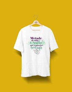 Camisa Universitária - Metade - Biologia - BIÓLOGA - Basic