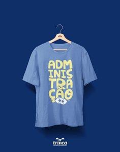 Camisa Administração - ADM - Azul - Premium