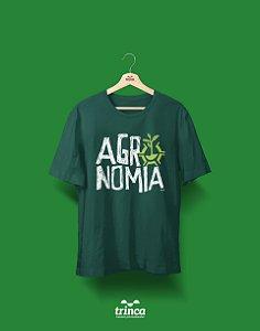 Camisa Agronomia - Quem Planta Colhe - Verde - Premium