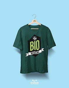 Camisa Biomedicina - My Life - Verde - Premium
