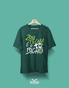 Camisa Zootecnia - É o Bicho - Verde - Premium