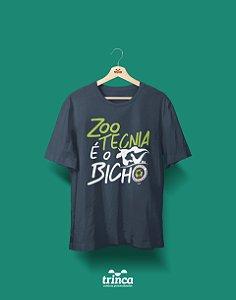 Camisa Zootecnia - É o Bicho - Cinza - Premium
